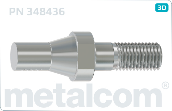 Pins cone for support insulators