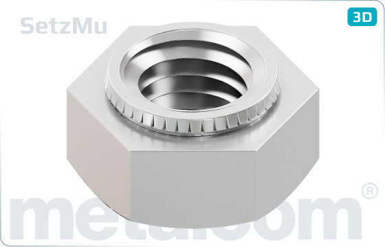 Hexagon nuts set nuts