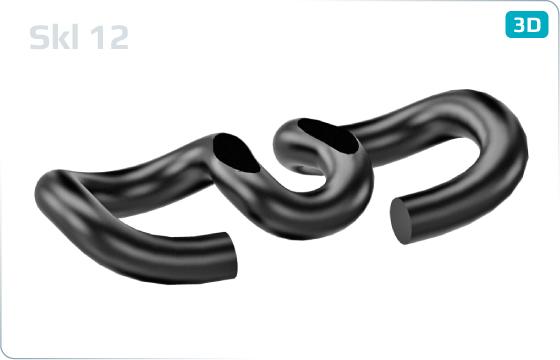 Svěrky pružné (Vossloh) - Skl12
