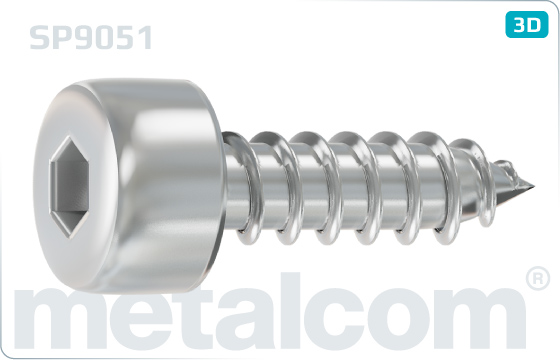 Tapping screws socket head cap (DIN 912) - SP9051