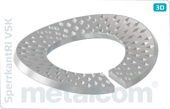 Pierścienie zabezpieczające typ kontaktowy VSK (~BN208012-T6-A)