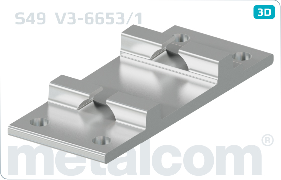 Podkładki do szyn przejściowe S49