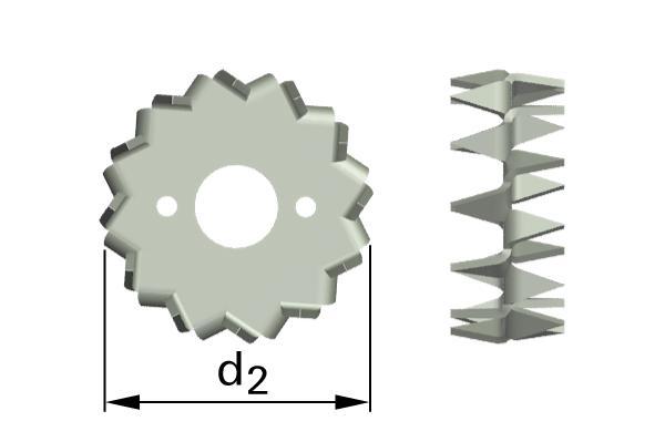 Pojistné kroužky pro dřevěné konstrukce typ C1 (Bulldog)
