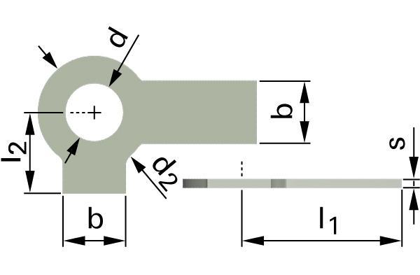 Podložky ploché pojistné se 2 jazýčky