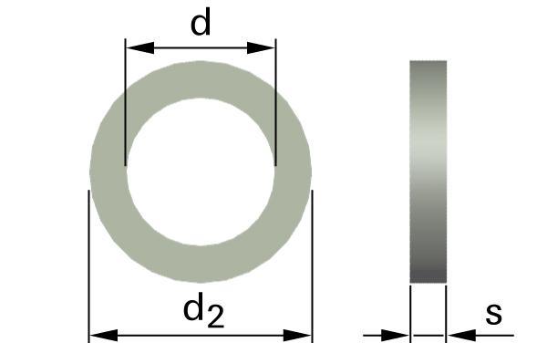 Podložky ploché AFNOR typ Z