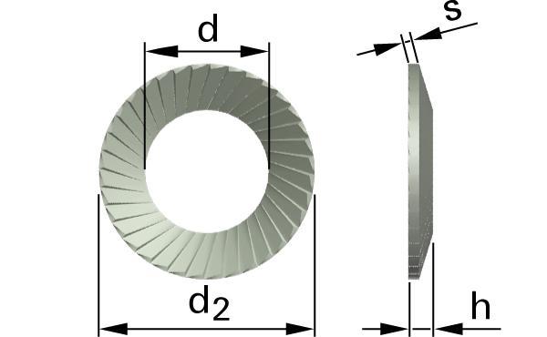 Pojistné kroužky SCHNORR® S