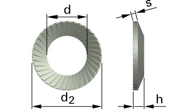 Pojistné kroužky SCHNORR® VS