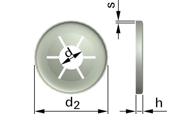 Pojistné kroužky rychloupínací pro hřídele