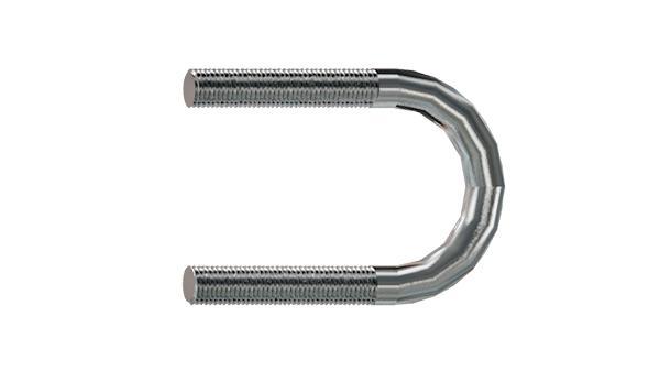 Studs and shackles U-bolts
