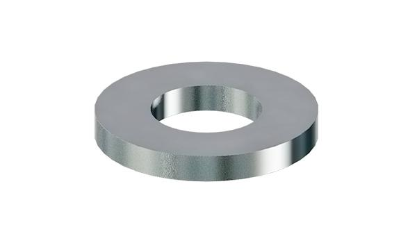 Plain washers for clevis pins, finish medium