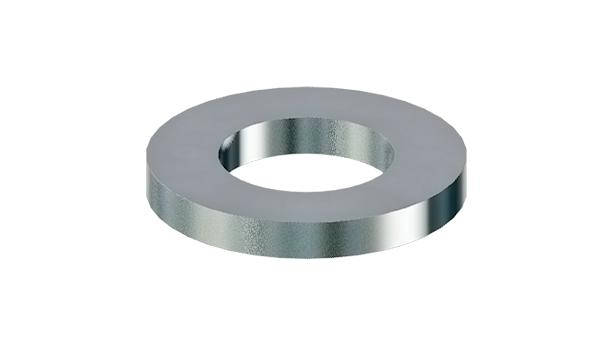 Plain washers for clevis pins, finish coarse
