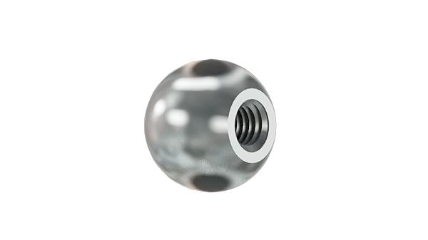 Handle nuts ball knobs
