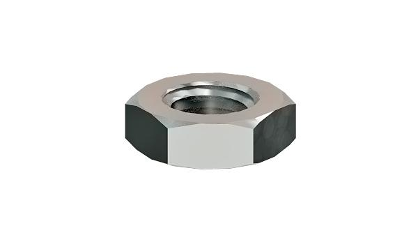 Hexagon nuts thin