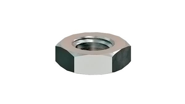 Hexagon nuts thin with metric fine thread
