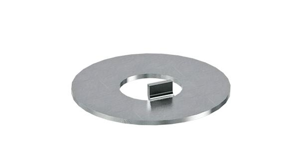 Plain washers with internal tab for nuts DIN 1804