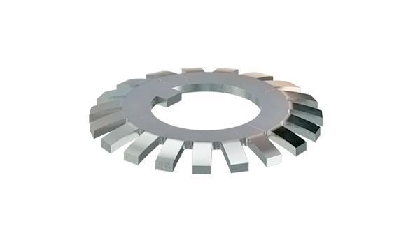 Lock washers for locknuts KM (DIN 981)