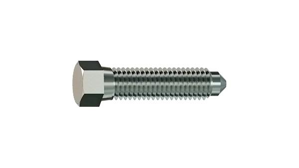 Hexagon set screws with half dog point and cone end