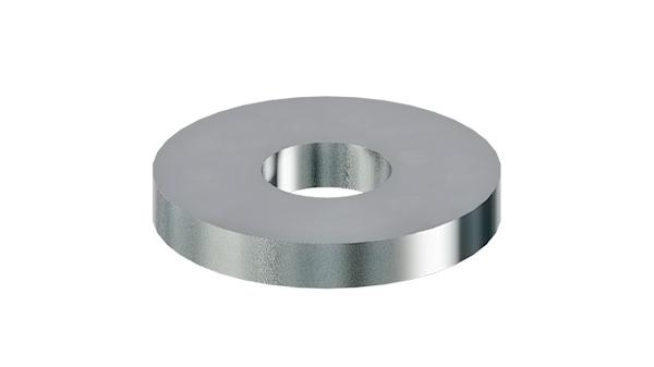 Plain washers for clamping devices