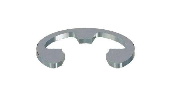 Lock washers for shafts (E-rings)