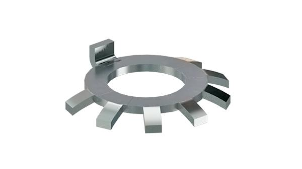 Lock washers for locknuts DIN 70852