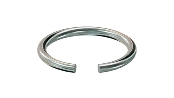 Lock washers snap rings for shafts
