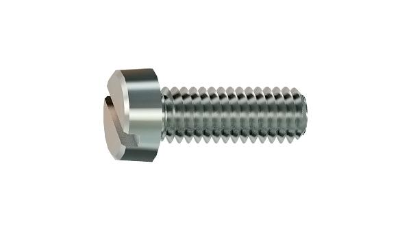 Slotted screws cheese head