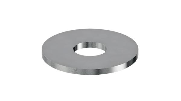 Plain washers outside diameter approx. 3d
