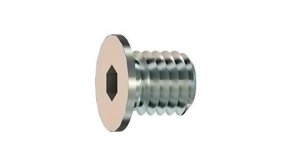 Hexagon socket screws plugs, cyl. thread