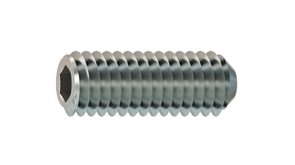 Set screws hexagon socket with flat point