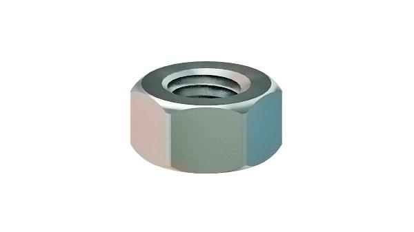Hexagon nuts with metric fine thread