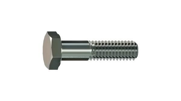 Hexagon head bolts with metric fine thread