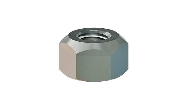 Hexagon nuts prevailing torque type, all-metal