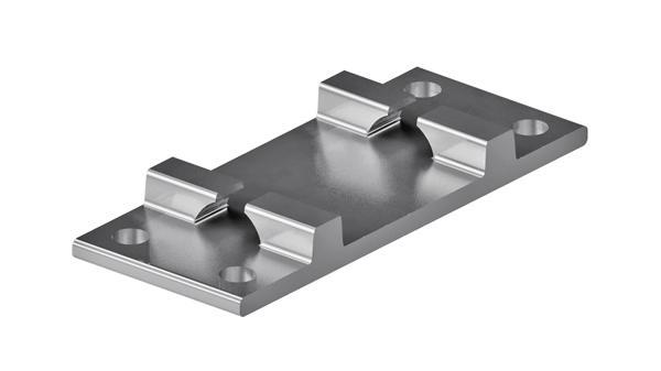 Podkładki do szyn płaskie żebrowe R65-0