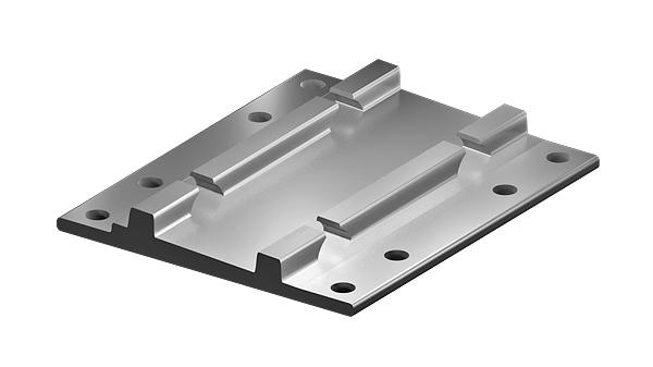 Bridge base plates S5