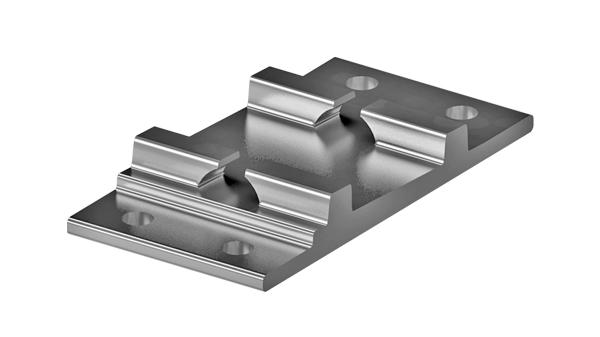 Base plates for sleepers R4M