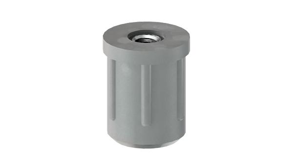 Adjustable components circular stoppers with zinc plated thread