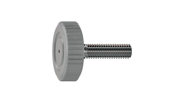 Adjustable components adjustable screws with knurled head