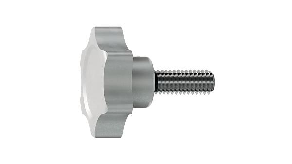 Screws and nuts star head screws