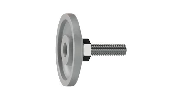 Adjustable components adjustable screws with movable conical head and internal hexagon in shank