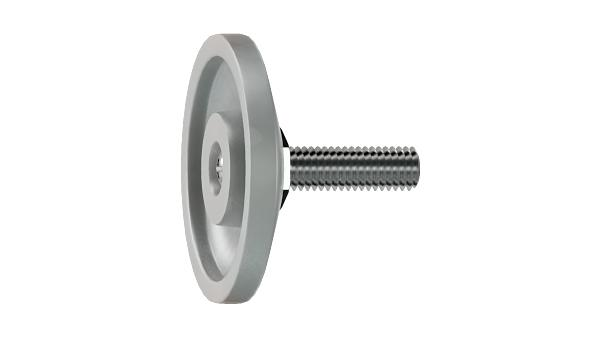 Adjustable components adjustable screws wih conical head