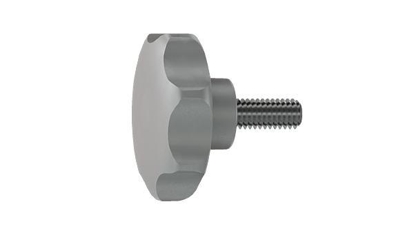 Screws and nuts heptagon head screws