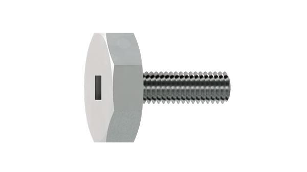 Adjustable components adjustable screws wih octagon square recessed head
