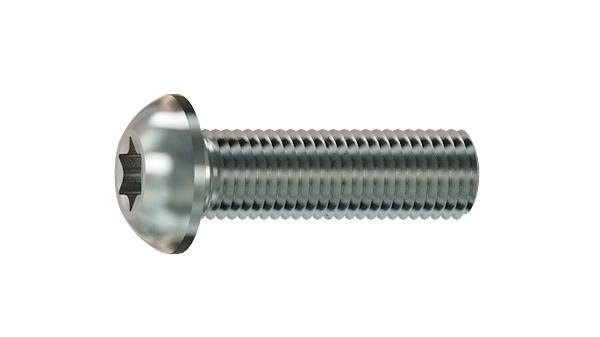 Hexalobular internal drive (TORX)screws button head