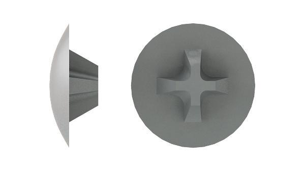 Caps for Unita cross recessed screws