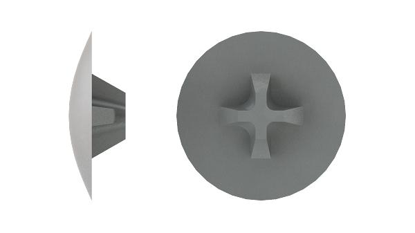 Caps for countersunk cross recessed screws (H)