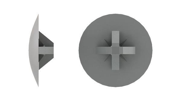 Kappen für Senkschrauben mit Kreuzschlitz (Z)