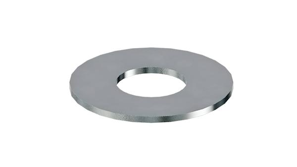 Plain washers for mud-guards