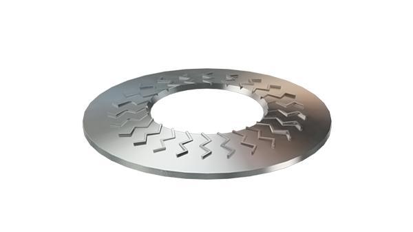 Pojistné kroužky kontaktní TECKENTRUP úzké (tvar S)
