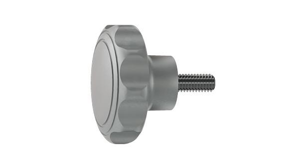 Screws and nuts oval nonagon head screws