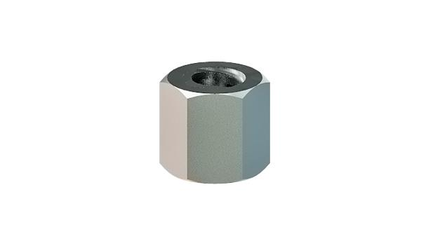 Hexagon nuts with trapezoidal thread